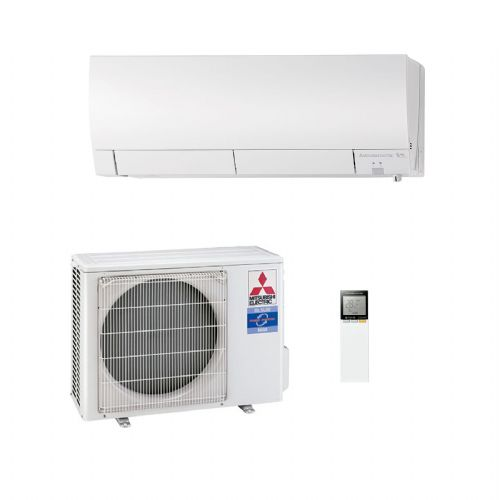 Mitsubishi Electric Air Conditioning MSZ-FH25VE Wall Mounted 2.5Kw/9000Btu Inverter Heat Pump A+++ 240V~50Hz